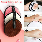 Soft Cleansing Cloth Pads Face Cleaner Plush puff Makeup Remover Towel
