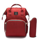 Baby Diaper Bag USB Interface Large Capacity Waterproof Nappy Backpack Nursing