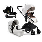 Baby Stroller 3 in 1 newborn buggy High Landscape Bassinets pushchair&car seat