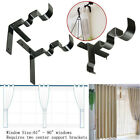 Внешний вид - Kwik Hang Double Center Support Curtain Rod Bracket Into Window Frame Bracket EW