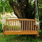 Acacia Wood Two Seater Porch Swing