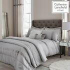 Catherine Lansfield Sequin Cluster Silver Luxury Duvet Cover Set or Accessories