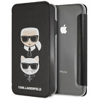 iPhone XS Max Karl Lagerfeld Book Style Case Polycarbonate by CG Mobile