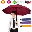 Portable Windproof Umbrella Automatic Inverted Reverse Foldable 3 Folding Travel