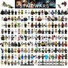 MiniFigures Legoing Star Wars Building Block Han Solo Luke Darth Vader Yoda Leia