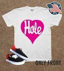 Rare Hole Heart courtney love punk rock unisex white Top Quality 1782 T Shirt image