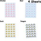 Shape Home Decoration Paper Corner Stickers Photo Albums Picture Frame Decals