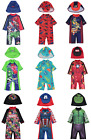 Boys Sun Protection Swimwear with Hat UV Sunsafe Surfsuits All Sizes NEW BNWT