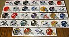 NEW NFL Helmet Stickers PICK ANY TEAM! Football Logo Decal Peel on eBay