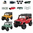Front LED Light 1:12 RC Car Off-road Vehicle Kit MN90K DIY Auto Toy Model Gift