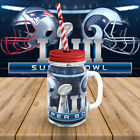 new england patriots vs los angeles rams super bowl mugs & mason jar 2019 $31.99 USD on eBay