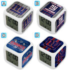 New York Giants Digital LED Clock Multi Color Changing Alarm Desk Decor