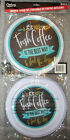 SET OF 4 METAL BURNER COVERS ELECTRIC STOVE~ A HOT FRESH COFFEE THEME