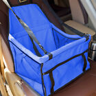 Pet Travel Safety Carry Bag Basket Dog Booster Car Seat Cover Pad Mat Waterproof
