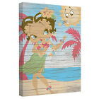 BETTY BOOP HULA BOOP LICENSED CANVAS WALL ART $67.84 USD on eBay