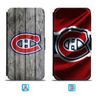 Montreal Canadiens Leather Flip Case For iPhone X Xs Max Xr 7 8 Galaxy S9 S8 $8.99 USD on eBay