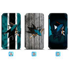 San Jose Sharks Leather Flip Case For iPhone X Xs Max Xr 7 8 Galaxy S9 S8 $8.99 USD on eBay