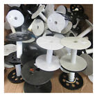 CLEARANCE EMPTY PLASTIC SPOOLS USED RIBBON CORD STRING WIRE CRAFTS STORAGE SPACE