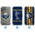 Buffalo Sabres Leather Flip Case For iPhone X Xs Max Xr 7 8 Galaxy S9 S8 $8.99 USD on eBay