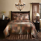 CROSSWOODS QUILT SET & ACCESSORIES. CHOOSE SIZE & ACCESSORIES. VHC BRANDS image