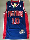 New Dennis Rodman Detroit Pistons Blue Throwback Swingman Stitched Jersey S-XXL on eBay