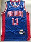 Men's Detroit Pistons Isiah Thomas Blue Throwback Swingman Jersey Size S-XXL on eBay