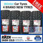 New 245 45 18 RIKEN SNOW COLD WINTER TYRES 245/45R18 2454518 (2,4 TYRES)