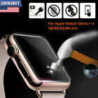 For Apple Watch Series 1 2 3 4 5 Tempered Glass Screen Protector Film 42 40 44mm