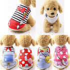 Puppy Pet Small Dog Clothes Cotton Waistcoat Warm Shirt Outfit Jumper Apparel