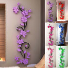 Flower Wall Sticker Acrylic Home Room Decor Decal Beautiful 3d Rose Hot Newest