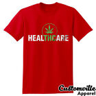🔥THC Heal Medical Marijuana T-Shirt Healthcare Weed 420 Cannabis Legalize shirt