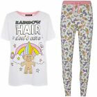PRIMARK LADIES TROLLS TROLL PYJAMA SEPARATES T SHIRT OR LEGGINGS PYJAMAS PJ'S   image