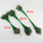 Fishing Traces Wire Leader Snap Lures Hook Swivels Stainless Steel Pike 10Pcs
