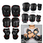 New 6pcs Skating Protective Gear Sets Elbow Knee Pads Bike Skateboard Adult Kid image