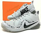 Nike Force Zoom Trout 4 Wolf Grey Mens Baseball/Softball Turf Shoes (917838-002)