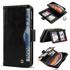 Luxury Leather Detachable Magnetic Card Slot Wallet Case Cover for iPhone X Xs