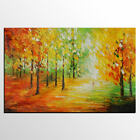 Abstract Autumn Scenery Hand Painted Oil Painting Home Decor On Canvas Art Wall