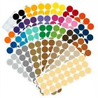 Color Coding Dot Labels, 1 inch Round Stickers, 24 pack, Permanent Outdoor Vinyl
