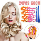 Water Wave Magic Curlers Formers Leverage Spiral Hairdressing Tool 25-65cm 24pcs