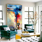 Modern Fashion Hand Painted Oil Painting Abstract Living Room Decor Art Canvas