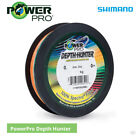 Shimano Power Pro Depth Hunter Braided Mainline - Cod Bass Pike Lure Sea Fishing