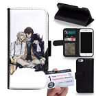 PIN-1 Bungo Stray Dogs Phone Wallet Flip Case Cover for Samsung