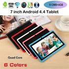 7-Inch Android 4.4 WIFI 512MB 4GB Laptop Quad-Core Tablet PC Kid Gift