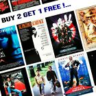 1980's Movie Film Posters - A5/A4/A3 - Professionally Printed Wall Art - Lot #3