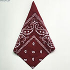 Cotton Bandana Headwear Women Neck Hair Band Men Hip Hop Square Scarf Face Towel