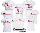 Minnie Birthday Girl Family Matching T-shirts disney trip Vacation party any age