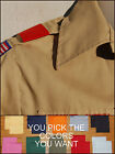 Внешний вид - BSA Boy Cub Scout Uniform Shoulder Loops Epaulet New ANY COLOR - ANY QUANTITY!!!
