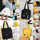 Fashion Lady Casual Canvas Big Shopping Bags Single-shoulder Bag Handbag Tote A9