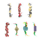 Pet Dog Squeaky Toys Gift Dog Chew Toy Candy Shaped Rope Toy for S/M/L Dogs