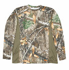 Berne Mens Realtree Edge Polyester Shortshot Performance Tee S/S